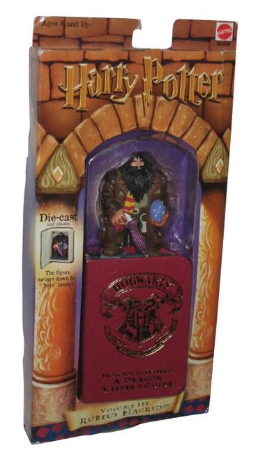 Harry Potter Hagrid Die-Cast Volume 3 Figure w/ Collectible Storage Book