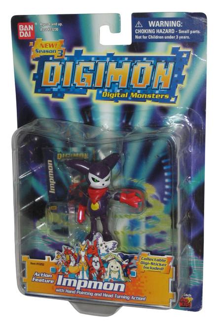 Digimon Impmon (2001) Bandai Season 3 Action Figure