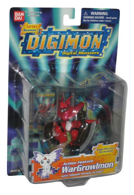 Digimon WarGrowlmon (2001) Bandai Season 3 Action Figure