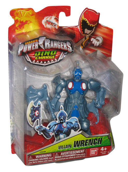 Power Rangers Dino Charge Villain Wrench (2015) Bandai 5 Inch Action Figure