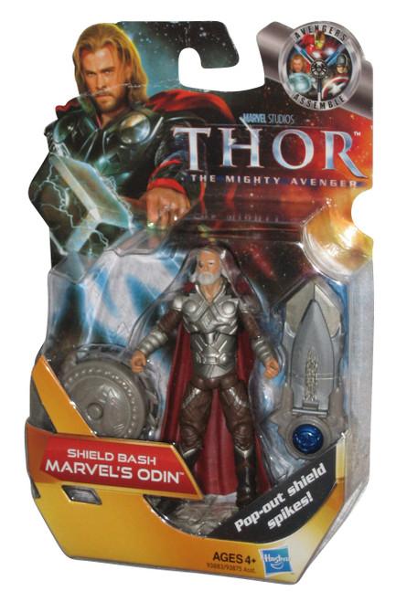 Marvel Thor Mighty Avenger Shield Bash Odin Figure #05