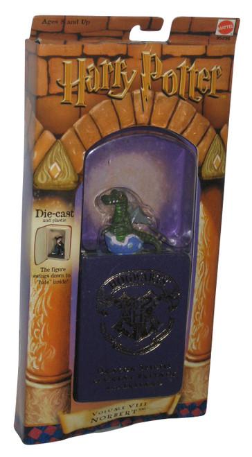 Harry Potter Volume VIII Norbert Figure w/ Storage Book - (Dragon Species of Great Britain and Ireland)