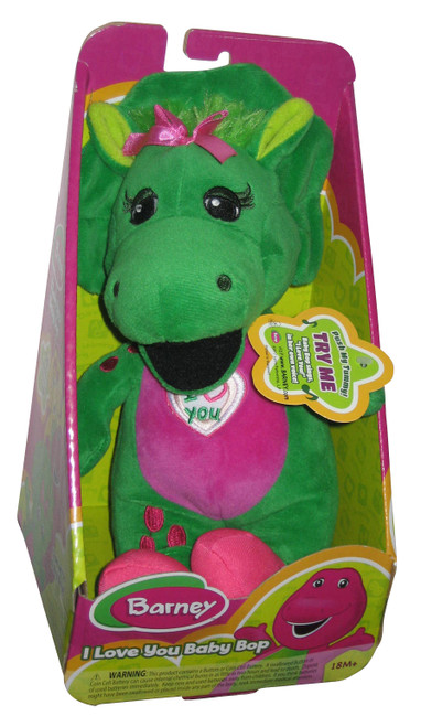 Barney The Dinosaur I Love You Baby Bop Fisher-Price Singing Plush Toy