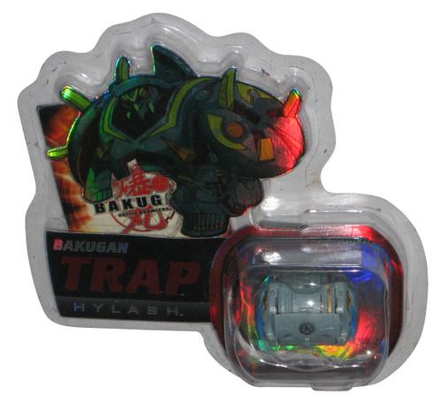 Bakugan Trap Grey Hylash (2009) Spin Master New Vestroia Toy w/ Cards