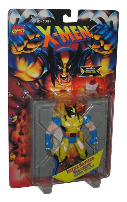 Marvel Battle Ravaged Wolverine Berserker Rage (1995) Toy Biz Action Figure