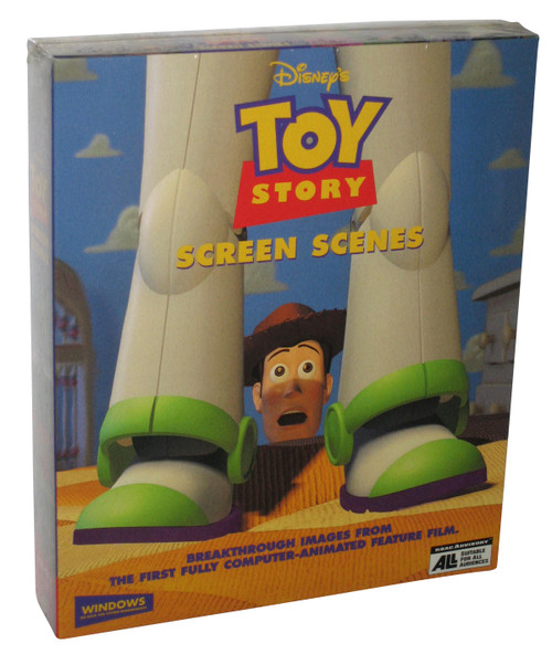 Disney Toy Story PC Windows Wallpaper & Screen Scenes Savers Vintage Box