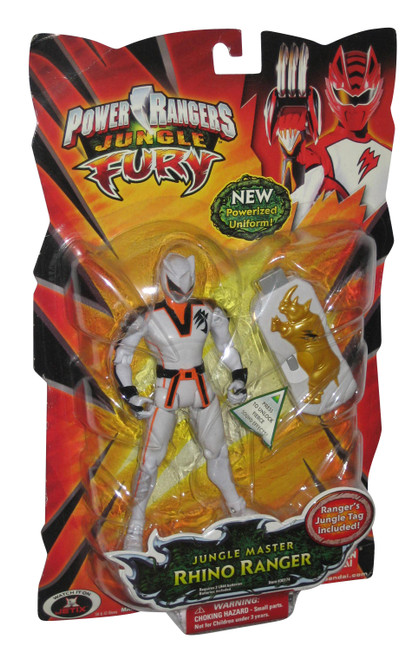 Power Rangers Jungle Fury Master (2008) Bandai Rhino Action Figure