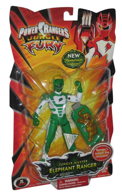 Power Rangers Jungle Fury Master (2008) Bandai Elephant Action Figure