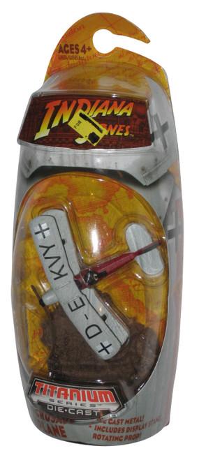 Indiana Jones Titanium Series Last Crusade Biplane Die-Cast Toy