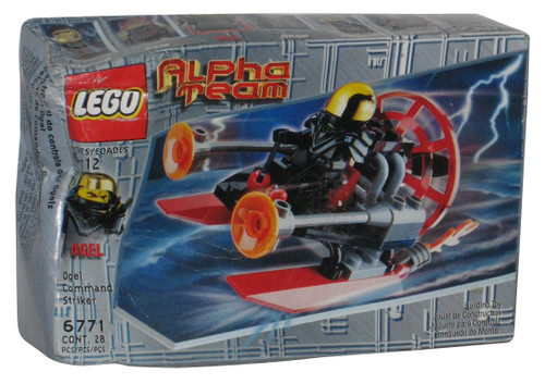 LEGO Alpha Team Ogel Command Striker Building Toy Set 6771