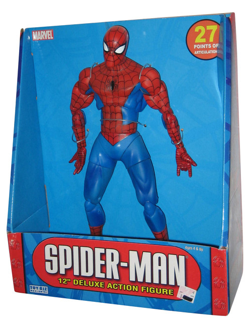"Marvel Comics Spider-Man 12"" Deluxe (2005) Toy Biz Action Figure"