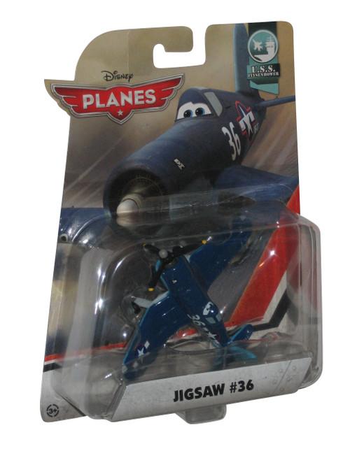 Disney Pixar Planes Movie Jigsaw #36 U.S.S. Flysenhower (2014) Mattel Toy Aircraft
