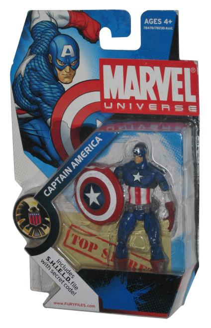 Marvel Universe Captain America (2008) Hasbro Action Figure 012 -