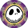 Nightmare Before Christmas Jack Spiders Button B-DIS-0423
