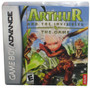 Nintendo Gameboy Advance Arthur & the Invisibles Video Game