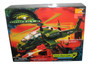 Godzilla Apache Attack Copter (1998) Trendmasters Toy Helicopter w/ Capture Net