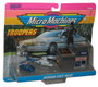Micro Machines Michigan State Police Troopers #2 (1990) Galoob Toy Set