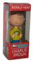 Peanuts Charlie Brown Christmas Funko Wacky Wobbler Bobblehead Figure