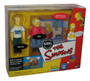 Simpsons KBBL Radio Station with Bill & Marty Interactive Environment Toy Playset