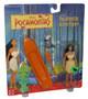 Disney Pocahontas Mattel Action Figure w/ Canoe