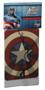 Marvel Avengers Assemble Captain America Vanilla Air Freshner