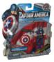 Marvel Captain America Paratrooper Dive Parachute Figure Set - (Deluxe Mission Pack)