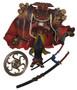 Final Fantasy X Summon Yojimbo Kotobukiya Action Figure w/ Sword