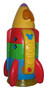 Fisher-Price Disney's Mickey Mouse Space Rocket Toy