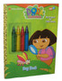 Nick Jr. Dora The Explorer Bug Hunt Coloring Golden Book w/ Crayons