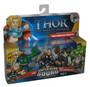 Marvel Super Hero Squad Mighty Avenger Thor, Hulk & Warrior Odin Figure Set 3-Pack