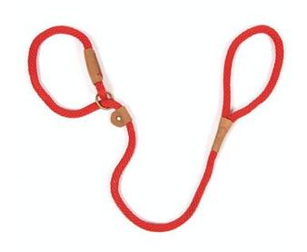 Rope Slip Lead - Brick Red
