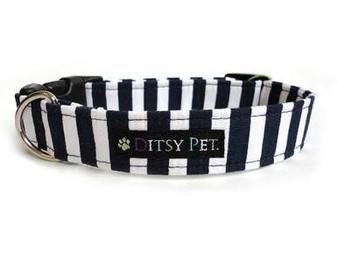 Ditsy Pet Ahoy Clasp Collar