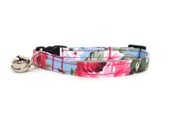 Ditsy Pet Rose Cat Collar
