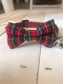 Ditsy Pet Highland Cat Collar Bow