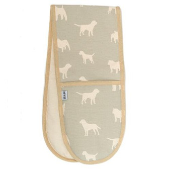 Mutts & Hounds Powder Blue Oven Glove
