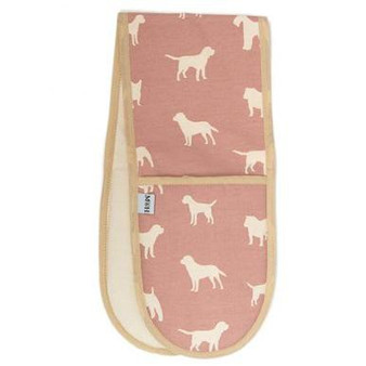 Mutts & Hounds Old Rose Oven Glove