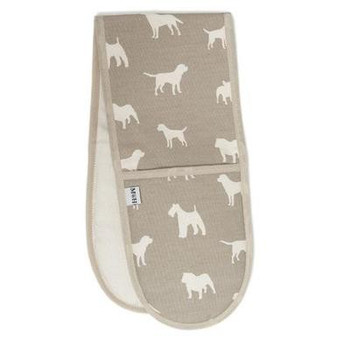 Mutts & Hounds French Grey Oven Glove