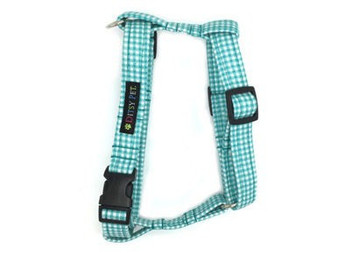 Ditsy Pet Teal Star Harness