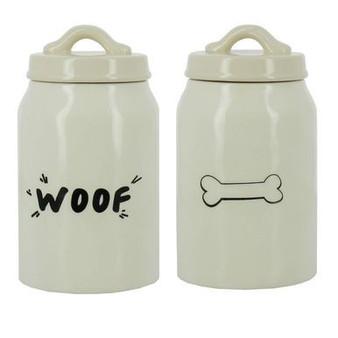 Woof Bone Dog Treat Jar