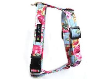 Ditsy Pet Rose Harness