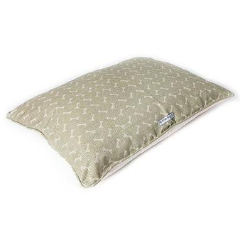 Mutts & Hounds Sage Bones Pillow Bed