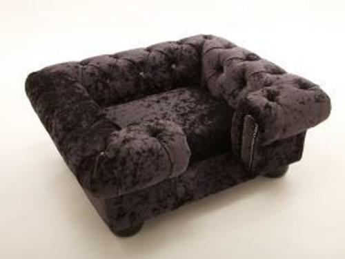 Balmoral Velvet Dog Bed