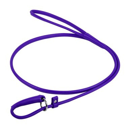 Leather Lead-Halter Purple