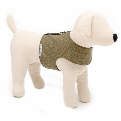 Mutts & Hounds Harness Forest Green