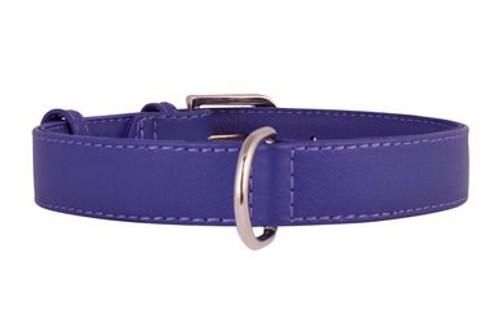 Leather Collar Purple