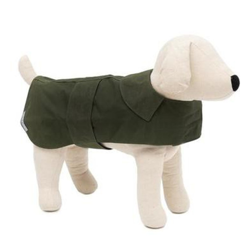 Mutts & Hounds Wax Coat Olive