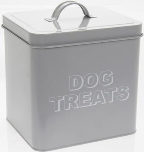 Metal Dog Treats Storage Tin