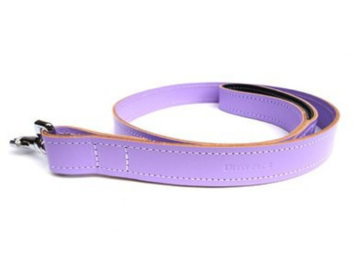 Ditsy Pet Lilac Leather Lead