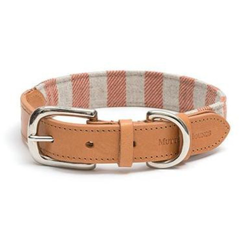 Mutts & Hounds Orange Stripe Dog Collar