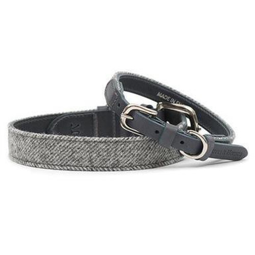 Mutts & Hounds Stoneham Tweed Dog Collar